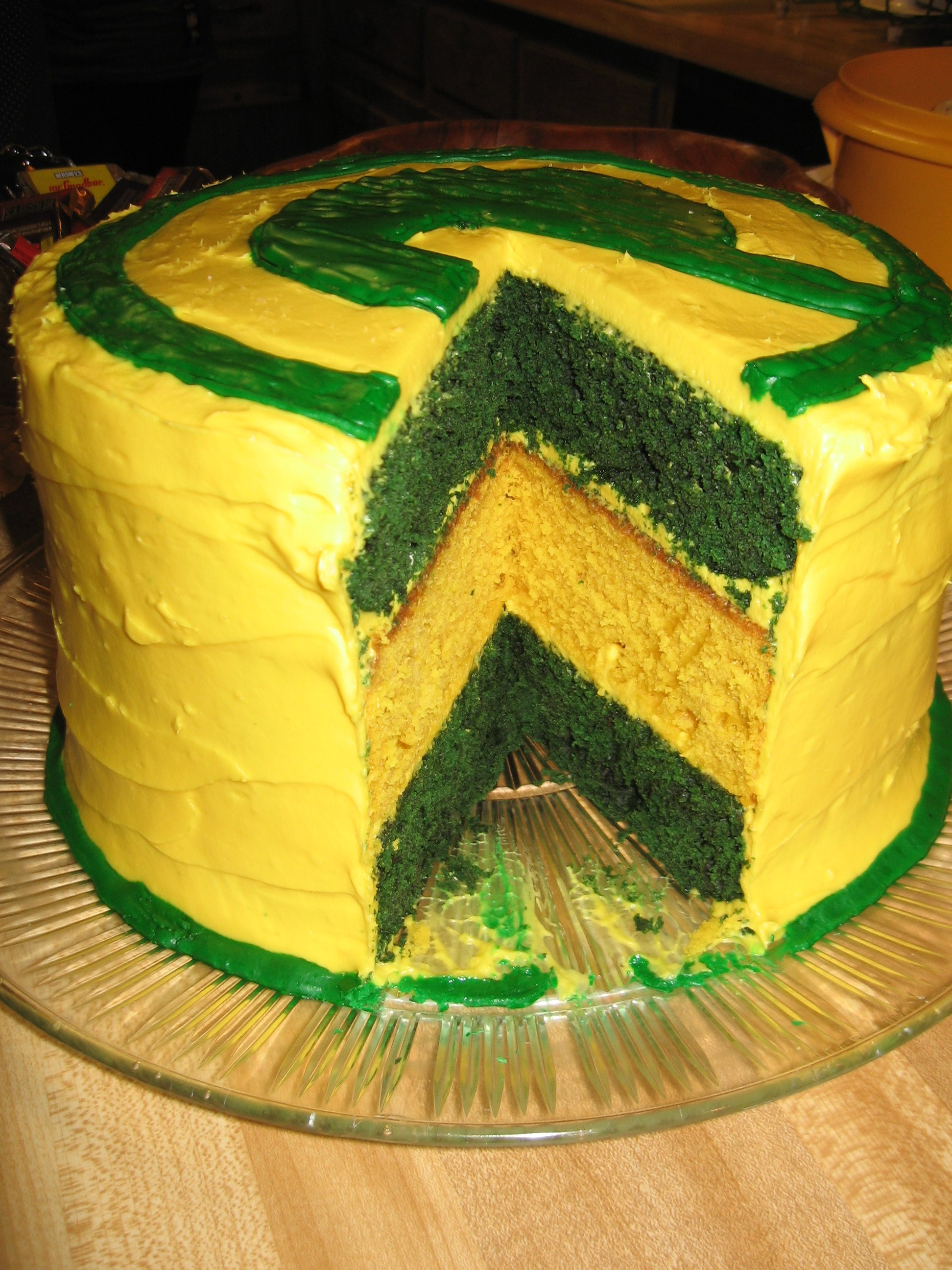 green bay packers cake curious cuisiniere. Black Bedroom Furniture Sets. Home Design Ideas