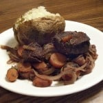 Red Wine Braised Venison Roast