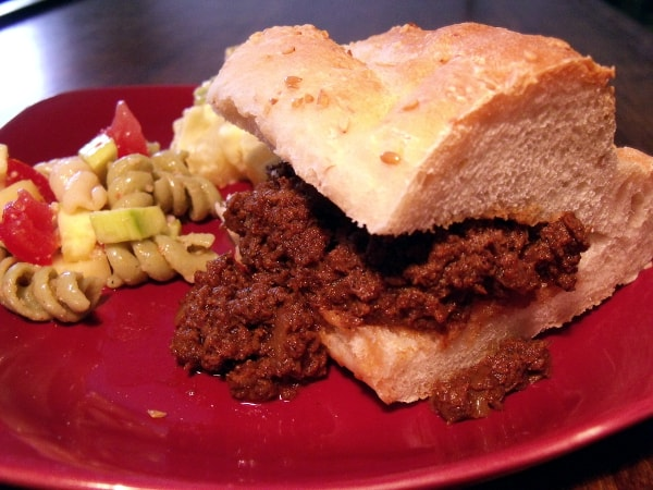 Coffee Spiked Sloppy Joes {Crock Pot} • Curious Cuisiniere