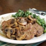 Venison Steak Marsala