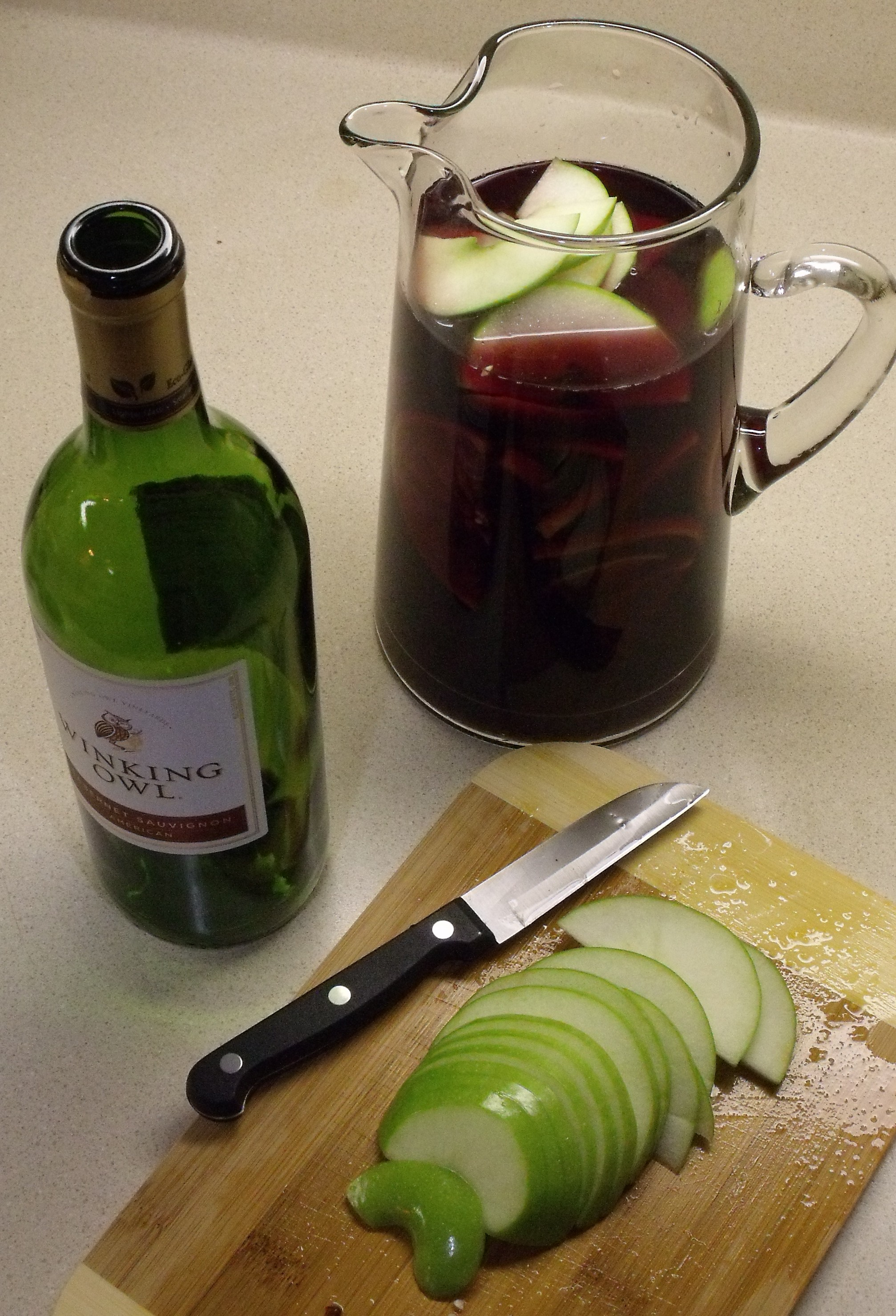 Winter Sangria | Curious Cuisiniere