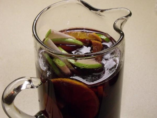 Spiced Winter Sangria