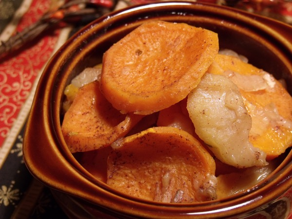 Sweet Potato Apple Bake