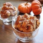 Pumpkin Bread Pudding {Crock Pot}
