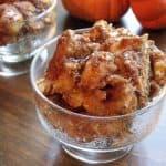 Pumpkin Bread Pudding – Crock Pot