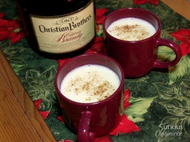 Lightened Up Eggnog - Curious Cuisiniere