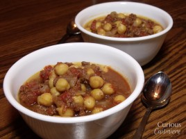 Spicy Chickpea Chili