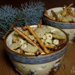 Herbed Holiday Party Mix #SundaySupper