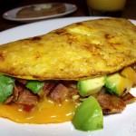 Turkey Club Omelette