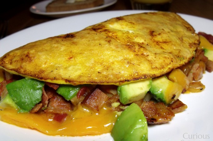 Turkey Club Omlette - Curious Cuisiniere
