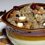 Breakfast Cranberry Almond Quinoa