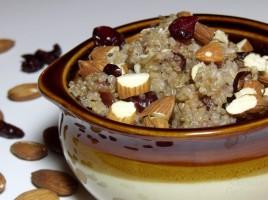 Cranberry Almond Breakfast Quinoa