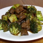 Spicy Venison and Broccoli