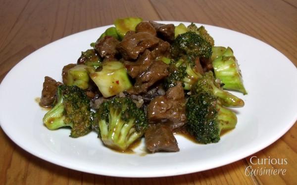 Spicy Venison Stir Fry with Broccoli