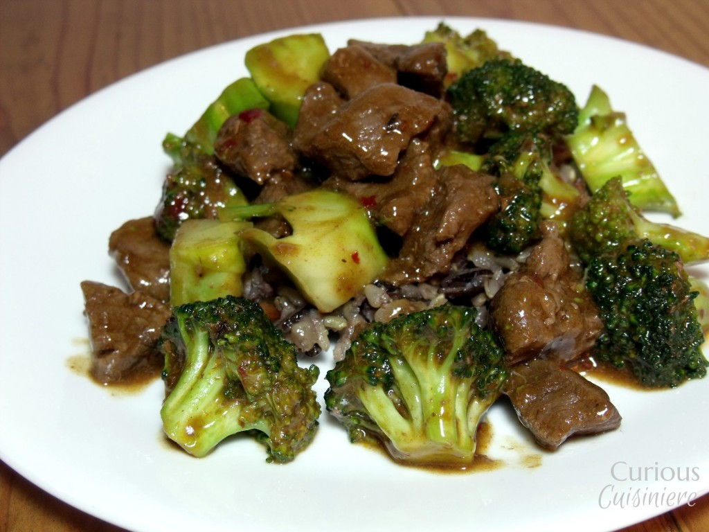 This Venison Stir Fry is a spicy twist on your classic Asian beef and broccoli stir fry using venison and a Thai chili sauce for a bit of a kick. - Curious Cuisiniere