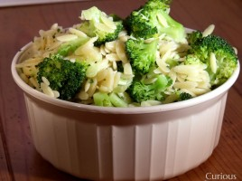 Orzo with Broccoli