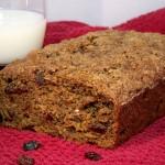 Healthy Rum Raisin Bread