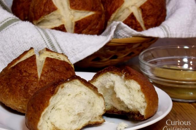Pretzel Rolls - Curious Cuisiniere