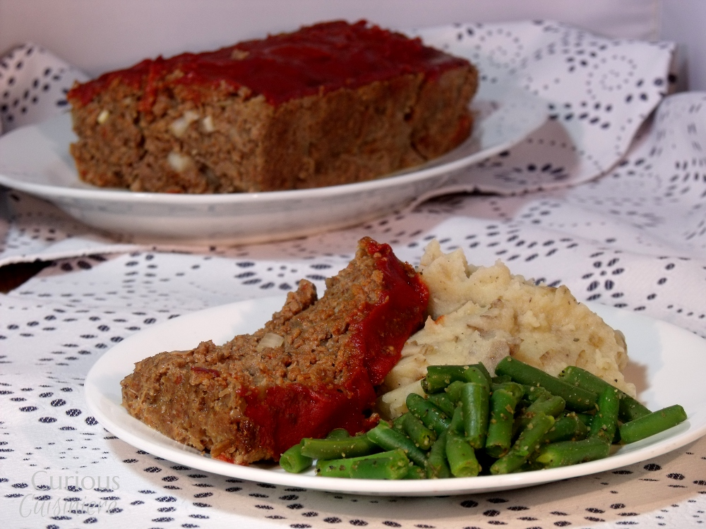 Kicked Up Meatloaf - Curious Cuisiniere