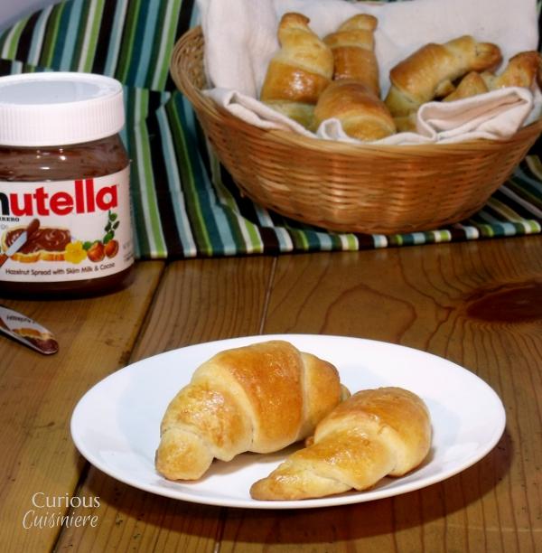 Low Butter Croissants - Curious Cuisiniere