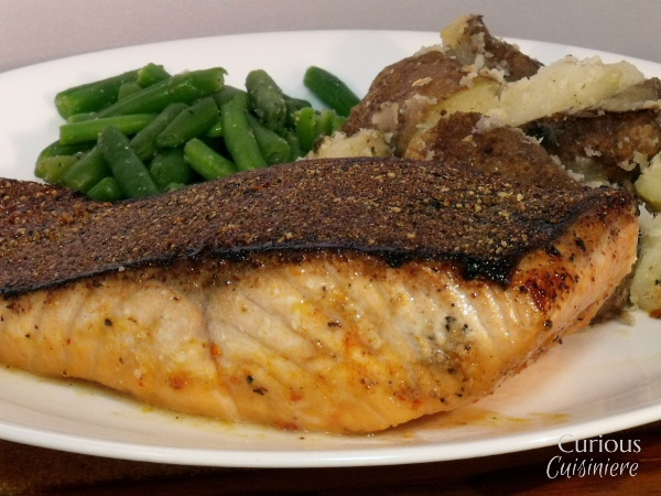 Cajun Blackened Salmon via Curious Cuisiniere