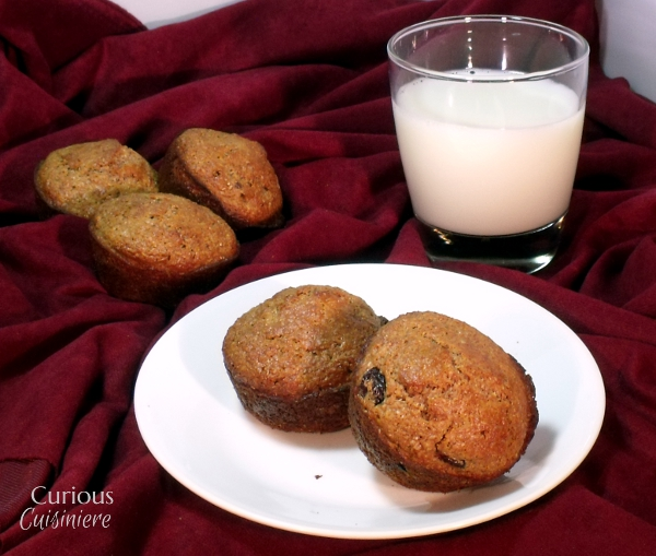 Tart Cherry Bran Muffins - Curious Cuisiniere