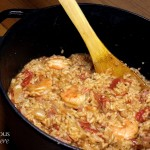 Shrimp and Ham Jambalaya