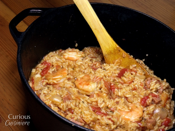 Shrimp and Ham Creole Jambalaya - Curious Cuisiniere