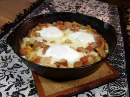 Sweet Potato Breakfast Skillet via Curious Cuisiniere