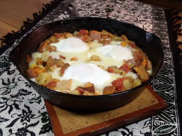 Sweet Potato Hash Breakfast Skillet