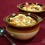 Chunky Vegetable and Barley Soup #SundaySupper