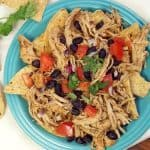 Southwest Pulled Chicken {Crock Pot}