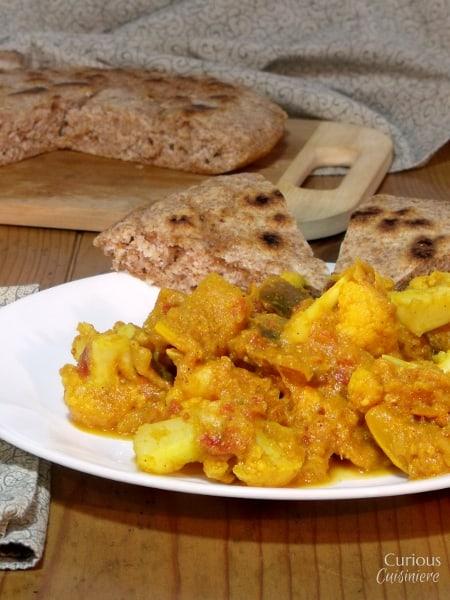 Cauliflower and Squash Curry | Curious Cuisiniere