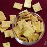 Sourdough Cheese Crackers #SundaySupper