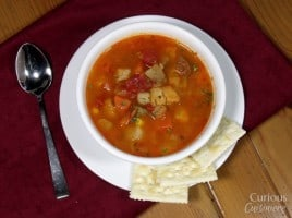 Manhattan Fish Chowder via Curious Cuisiniere