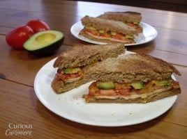 Turkey Avocado Melt | Curious CuisiniereAC