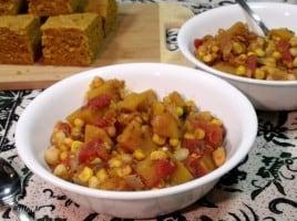 Chili Spice Squash Stew via Curious Cuisiniere
