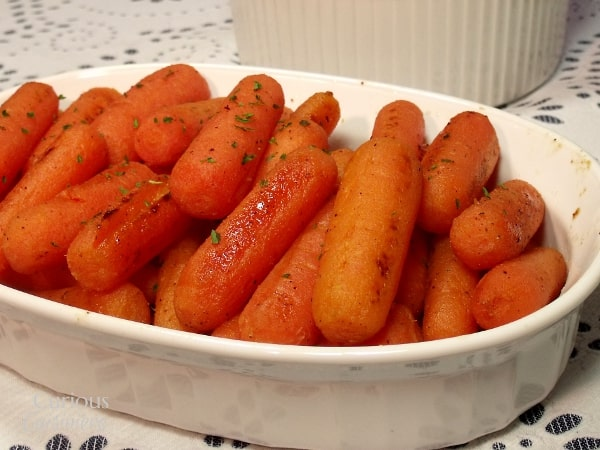 Lemon Glazed Carrots | Curious Cuisiniere