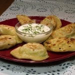 Basic Polish Pierogi Dough with Three Fillings