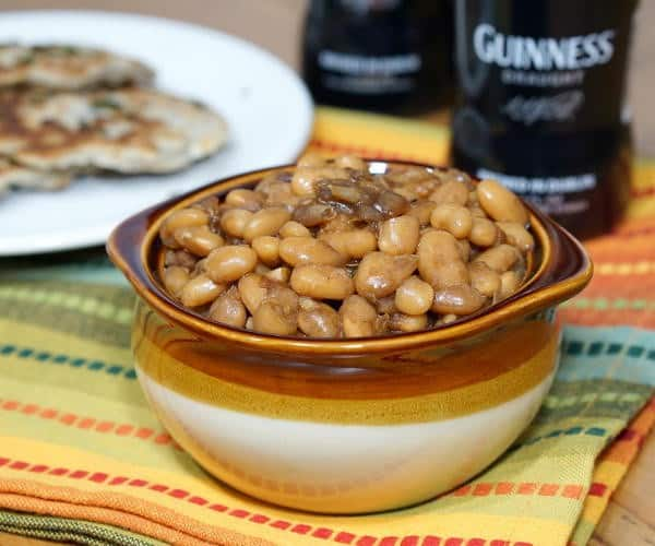 Slow Cooker Guinness Baked Beans