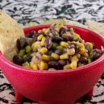 Sweet and Tangy Black Bean Salsa