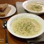Avgolemono – Greek Egg and Lemon Soup