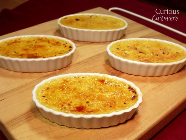 Mango Creme Brulee by Curious Cuisiniere