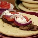 Venison Steak Gyros