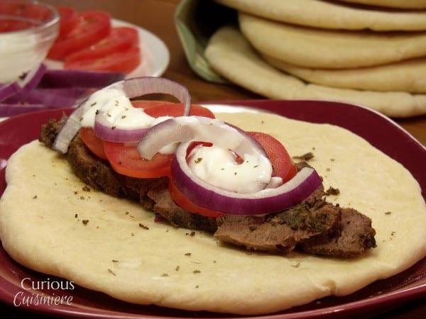 Venison Steak Gyros #SundaySupper