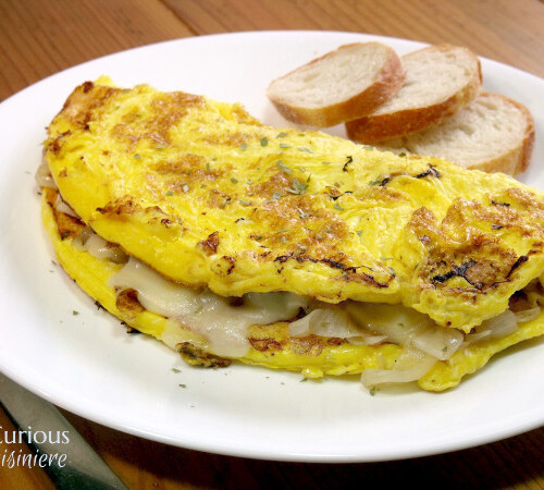 French Onion Omelette Curious Cuisiniere
