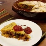 Tamale Pie with Beans and Squash
