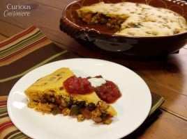Tamale Pie wth Beans and Butternut from Curious Cuisiniere