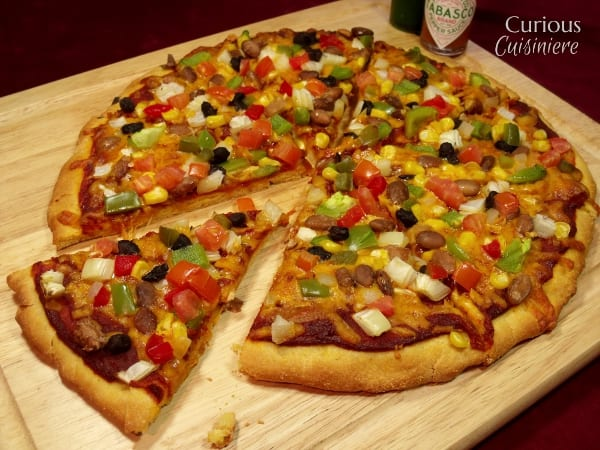cornmeal pizza crust for mexican pizza curious cuisiniere