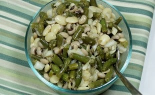 Green Bean Salad from Curious Cuisiniere